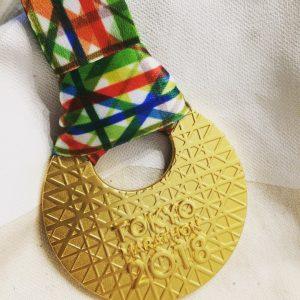 2018東京マラソン完走メダル