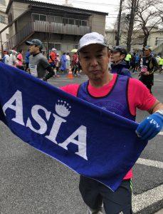 【東京マラソン】